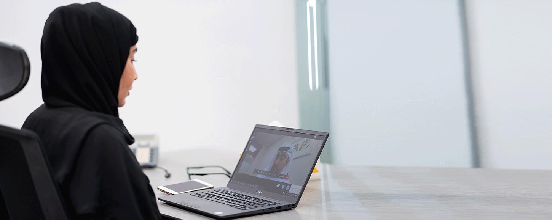 اجتماع إلكتروني مرئي مع شركة نخيل العقارية سبتمبر 2020