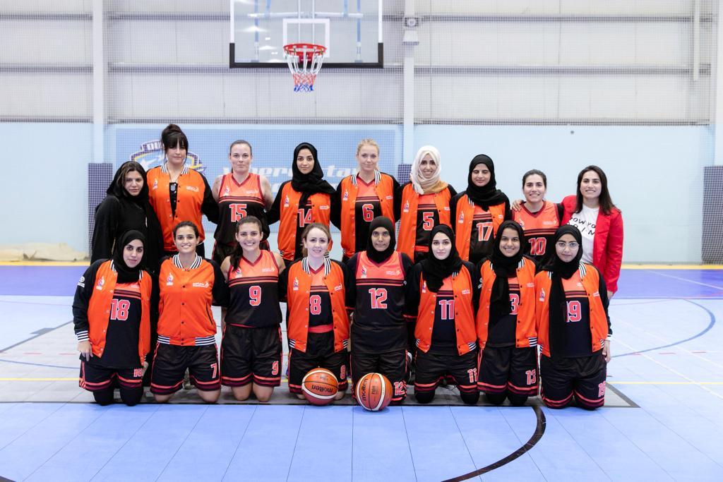 سيدات مركز نظم المعلومات الجغرافية في صدارة كرة السلة أكتوبر 2019
