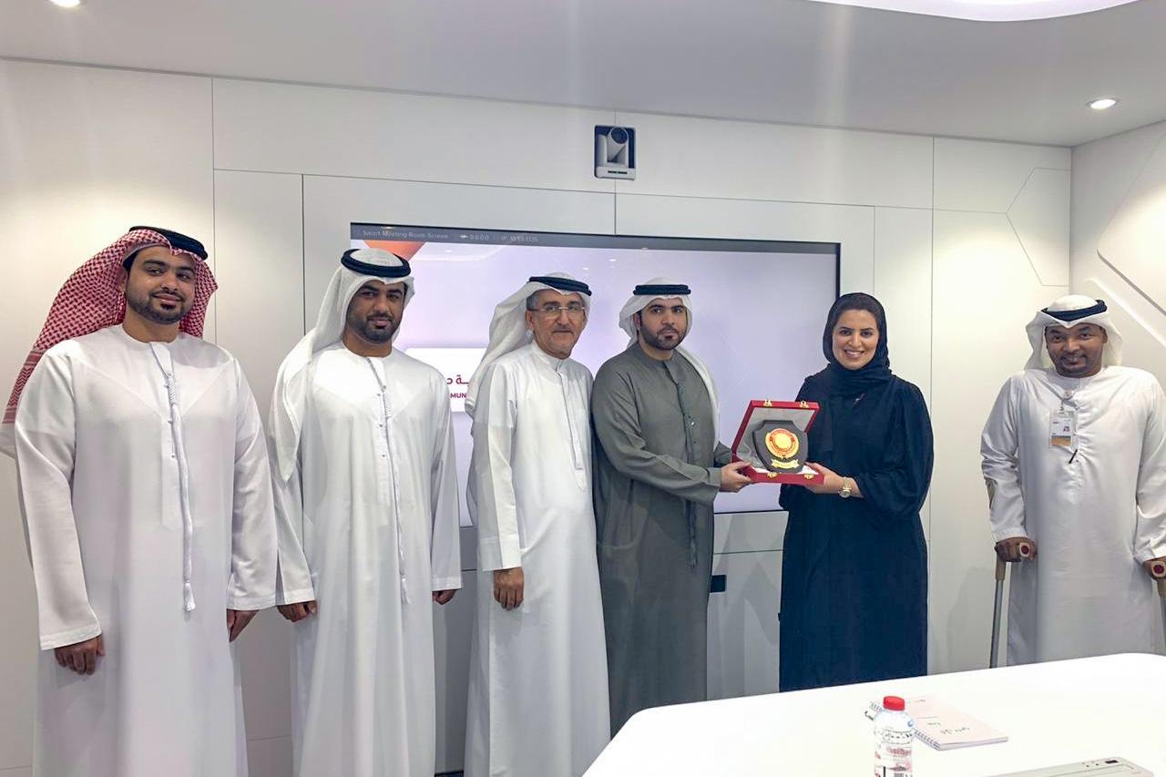 شرطة دبي : زيارة الى المركز يناير 2020
