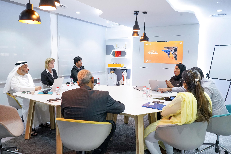 التعاون مع مجموعة الفطيم في مبادرة و ابتكار المدينة الذكية. فبراير 2020