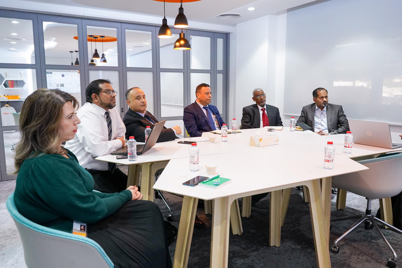التعاون مع كليه التقنية العليا في دبي فبراير 2020