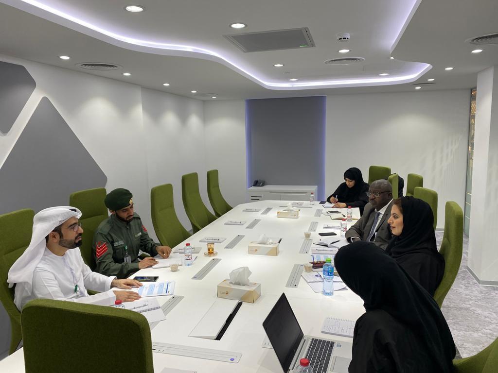 زيارة إلى المركز: الإدارة العامة للعمليات في شرطة دبي مارس 2020