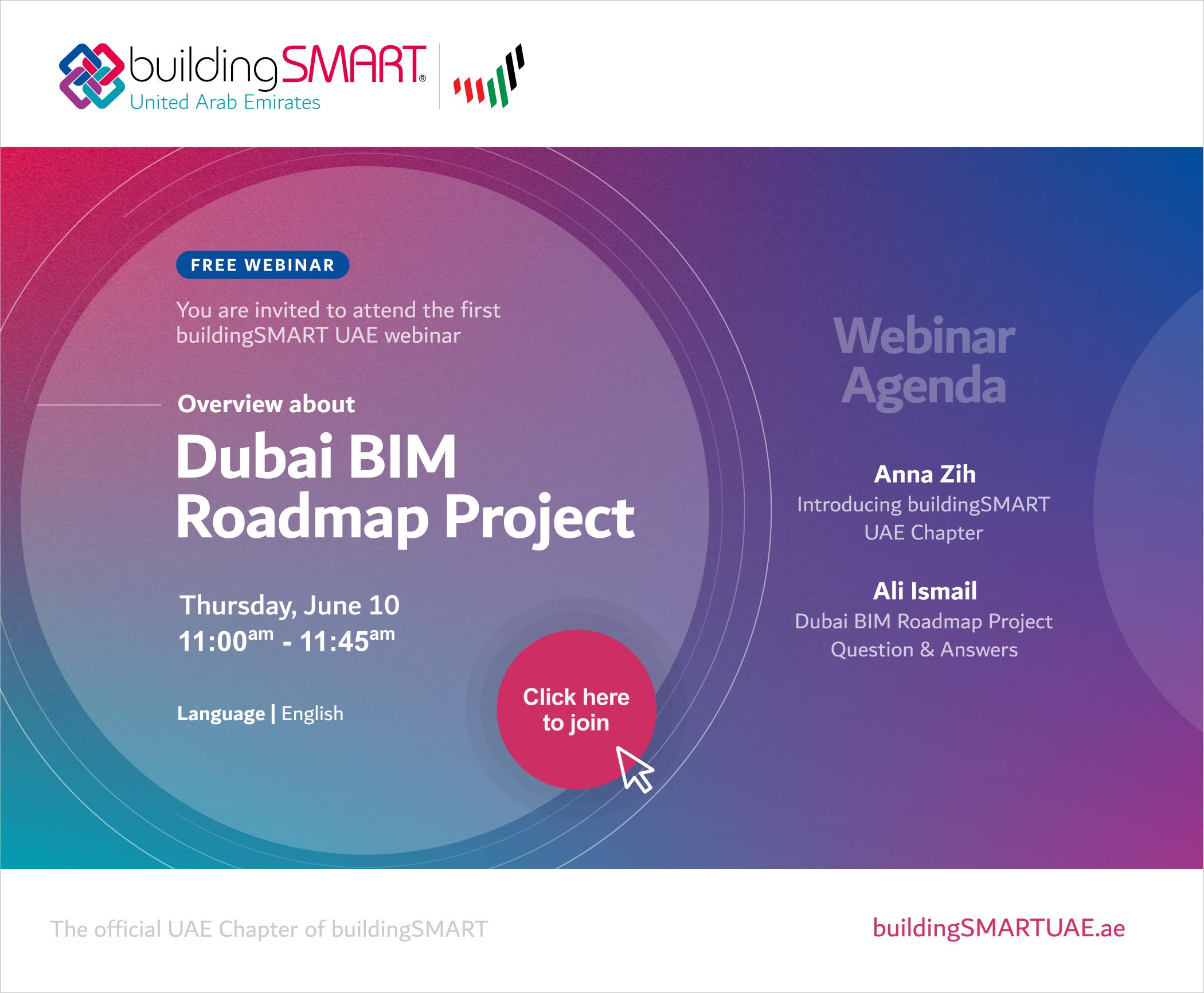 buildingSMART UAE Chapter First Webinar